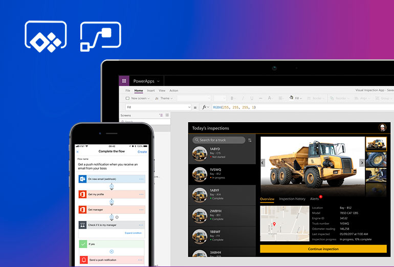 Microsoft Power Apps y Power Automate